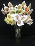 Artificial flower -polyfoam calla